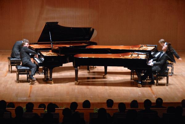 Gerswin Piano Quartett-quer