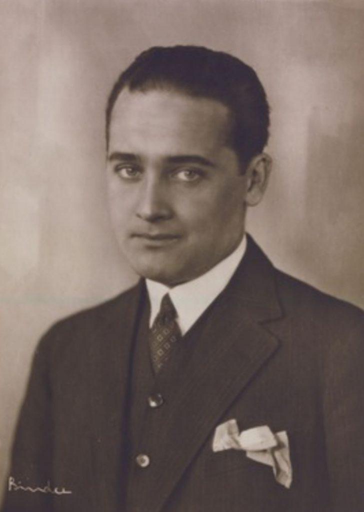 Max Hansen (Fotografie von Alexander Binder, entstanden vor 1929)