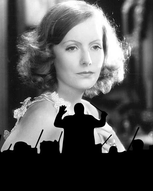 Greta Garbo-Filminszenierung mit Live-Orchester