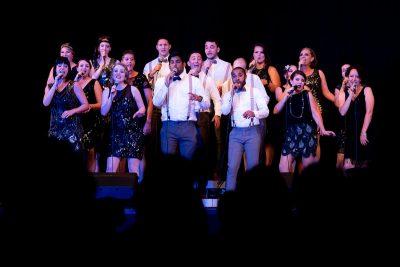 Gospel Choir Zurich on stage