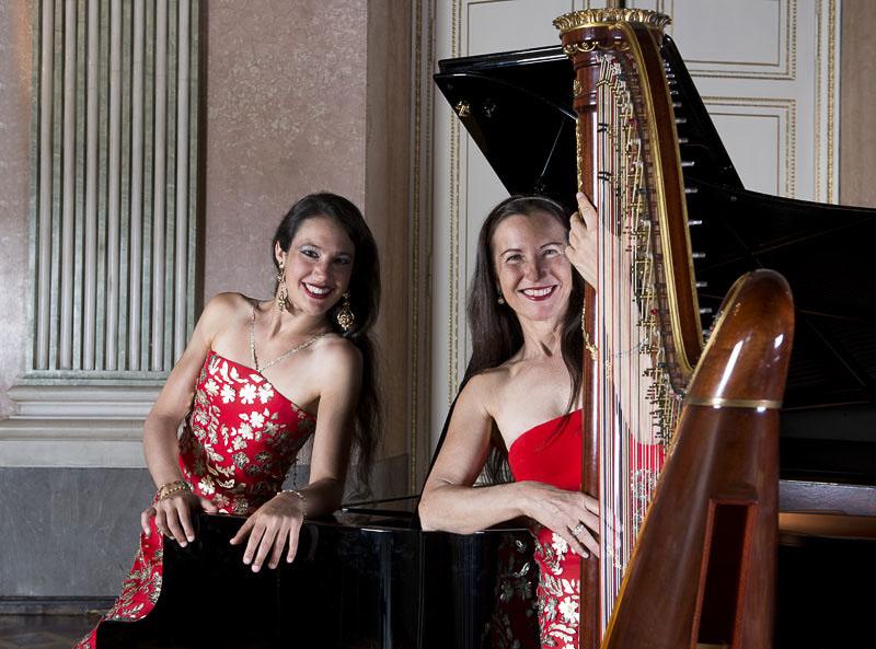 Duo Praxedis Harfe und Klavier
