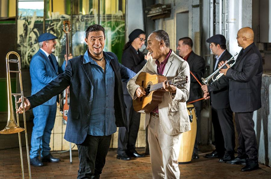 Conexion Cubana Band in action
