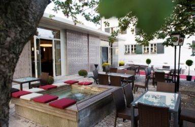 Bar zum Doktorhaus Website Garten